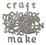 120 Wooden Lower Case Letters + kids B Crafty Games Idea Sheet