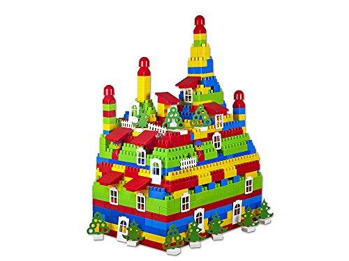 Bau Ziegel Bausteine 1000 Stück Kinder Kreativität Klassisch