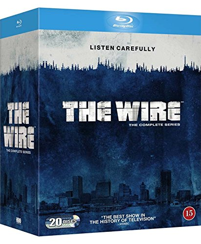 Produktbild The Wire - The Complete Season 1-5 [Blu-ray] [Region Free]