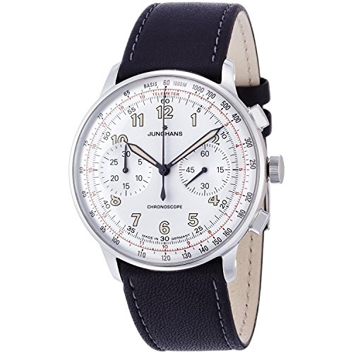 Mens Junghans Meister Telemeter Automatic Chronograph Watch 027/3380.00