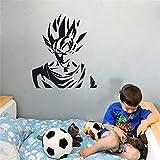 Dragon Ball Decalcomania della parete Dragon Ball Z Dbz Super Saiyan Goku Anime Adesivo in vinile Ragazzi Rooom Wall Stickers Home Decor Art Decor Vinyl Poster