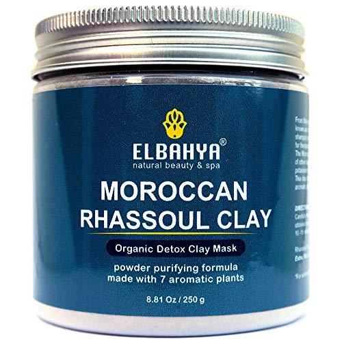 Marroquí Rhassoul Ghassoul arcilla polvo 7 plantas