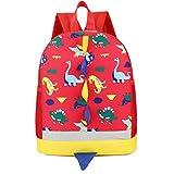 YOUBan Damen Rucksack für Kinder Mädchen Kinder Dinosaurier Muster Tasche Tiere Rucksack Kleinkind Schultasche Canvastasche Trekkingrucksack