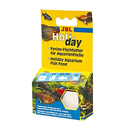 JBL Holiday complete food for all aquarium fish, fodder block, 40310