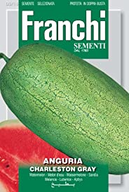 Franchi Watermelon Anguria Charleston Gray Seeds البطيخ
