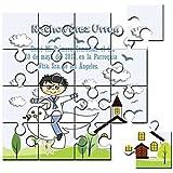 Recordatorio de Comunión niño en puzzle (2,10€ unidad)