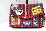 LA CARRIE BAG BORSA POCHETTE 182-W-485 BOY SCOUT RED