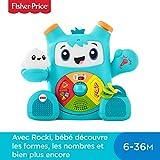 Fisher-Price Mon Ami Rocki robot interactif jouet sons et lumières pour apprendre à bébé les...