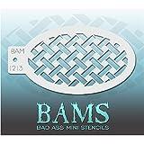 Bad Ass Stencils Mini cesta de la plantilla de la armadura