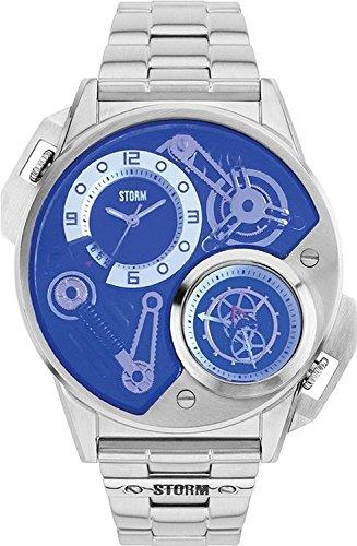 Mens STORM Dualtron Watch DUALTRON-LAZER-BLUE
