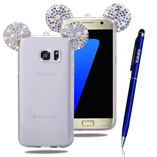 Custodia Per Samsung Galaxy S7, Yokata Bumper Gel Silicone TPU