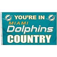 Fremont Die NFL Herren, Unisex, Frauen 3-by-5Fuß Flagge mit Tüllen