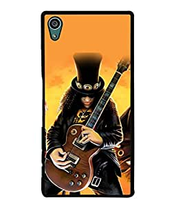 Fuson Designer Back Case Cover for Sony Xperia Z5 :: Sony Xperia Z5 Dual 23MP (Guitar Concert Show Band Girls)
