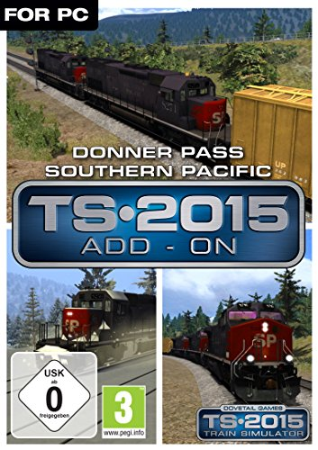 Train Simulator 2015 Donner Pass Southern Pacific