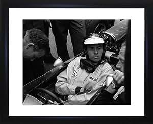Jim Clark photo encadrée