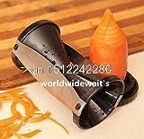 Gemüse Obst Spirale Shred Prozess Gerät Cutter Schneide Schäler Küche Werkzeug