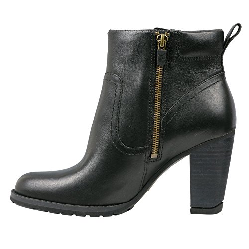 Timberland Damen EK Stratham Hights Side Zip Ankle Boots Schwarz (8613A) Xf1E2