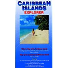 Caribbean Islands Explorer: Visitor's Map of the Caribbean Islands and Map of the Leeward and Windward Islands (Ocean Explorer Maps)