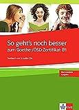 So Geht's Noch Besser B1 Testbuch (with 3 CDs)