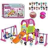 Puppe Park House Spiel Exquisite Fun Big Slide Spielset Geschenk Spielzeug für LOL Überraschung Puppe Spielzeug