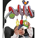 #9: GAZEPO Baby Stroller Toy Spiral Cloth Toy Bed Hanging Toys Kid Plush