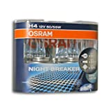 Halogenleuchte, Osram Night Breaker Plus, H4 12V/55W