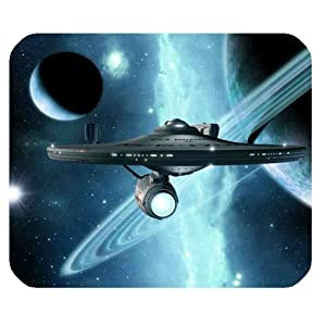 Star Trek Mousepad Personalized Custom Mouse Pad Oblong Shaped In 9.84″X7.87″ Gaming Mouse Pad/Mat