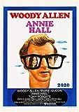 Calendario da parete 2020 [12 pagine 20,3 x 27,9 cm] poster vintage del film Woody Allen