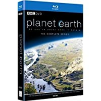 Planet Earth - I (DigiPack) - The Complete Series (Uncut) [Blu-ray] (2006) | Imported from UK | 2 Entertain Video/BBC | 5 Disc Set | 550 min | Region Free | Documentary | Director: Alastair Fothergill | Narrator: David Attenborough