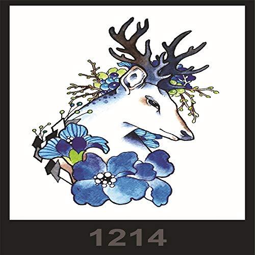 3Pcs-Spot Anti-real großes Bild wasserdichte Blume arm Tattoo Aufkleber schönheit Macho Tattoo Set 3Pcs-63