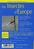 Image de Les insectes d'Europe - MEMO