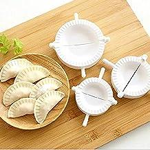DIVISTAR Prensa Ravioli Dough Pastel Dumpling Maker Gyoza Empanada Molde Herramienta, 3 Piezas