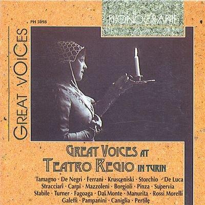 Great Voices at Teatro Regio I