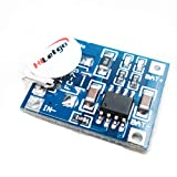 HiLetgo 5V Micro USB 1A Lithium Battery Charging Board Charger Module