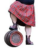 Spaß kostet Männer und Herren Schottenrock Kilt rot schwarz