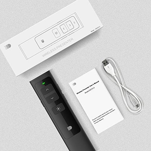 Wireless Presenter, Breett Präsentation Pointer, Presenter Powerpoint Hyperlink und Lautstärkeregelung - 9