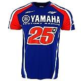 Maverick Vinales 25 Moto GP Yamaha Factory Racing T-shirt Officiel 2018
