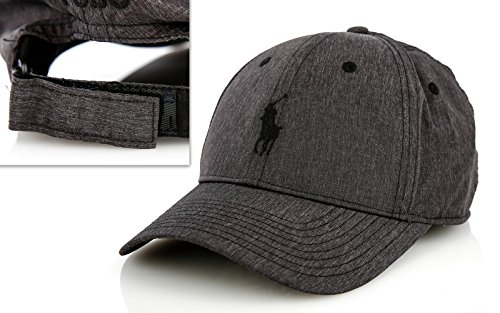 Polo Ralph Lauren Cap Basecap Base Cap Mütze grau one Size neues Modell (Base Polo)