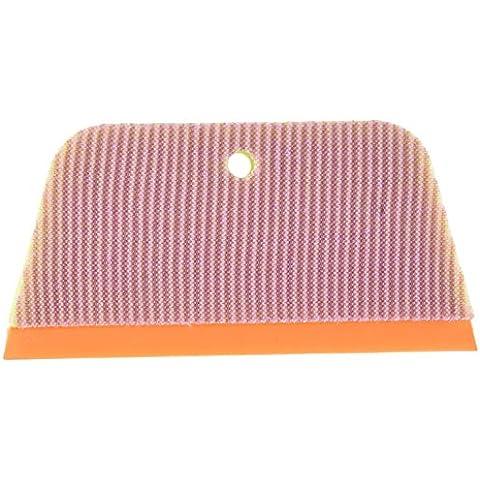 Casabella 1 cuenta Super esponja de baño escobilla, color verde/marrón/naranja