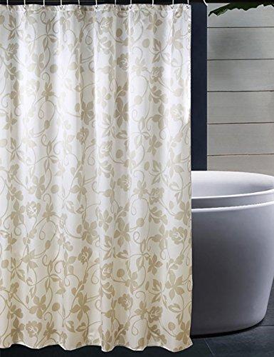 Duschvorhang europäischen Einfache Polyester Duschvorhang Schimmel Schimmel wasserdicht Duschvorhang Opak kreative Vorhang Vorhang Hotel Bad Vorhang Multi-standard Duschvorhang (Größe: 300*200 CM)