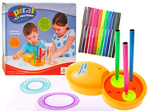 BSD Spiral Art Machine - Spiral Drawing Doodle Maschine - Spirograph Set für Kinder