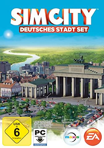 SimCity: Deutsches Stadt Set (Add-on) [Download Code]