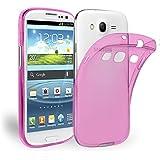 Samsung Galaxy S3 Neo S3 Hülle robuste Silikon Schutzhülle Ultra-Clear Case im transparenten Design Rückseite in Crystal Pink