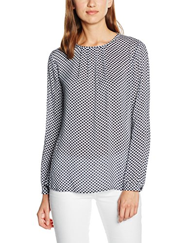 Gerry Weber Dot Print, Top Donna Blu (White-Navy-Light Blue)