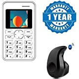 Captcha Lowest Radiation Slim Credit Card Size GSM Mobile With S530 Mini Style Wireless Bluetooth Headset (multicolor)