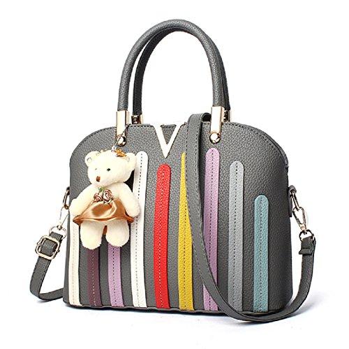 Gli allievi dello zaino delle donne delle borse delle donne brandnew di modo modifica la vendita poco costosa di cuoio di alta qualità del pacchetto di svago (DFMP14) E