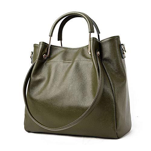 YSZDM Damen Handtaschen, Designer-Handtaschen für Frauen, PU-Leder-Frauentaschen für Arbeitseinkaufstagparty,Green