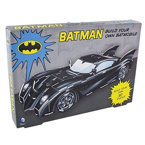Batman 3D Batmobile Puzzle Model Build Your Own Ages 3+ by DC