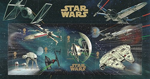 2015Star Wars sello miniatura hoja en pantalla para pantalla plana