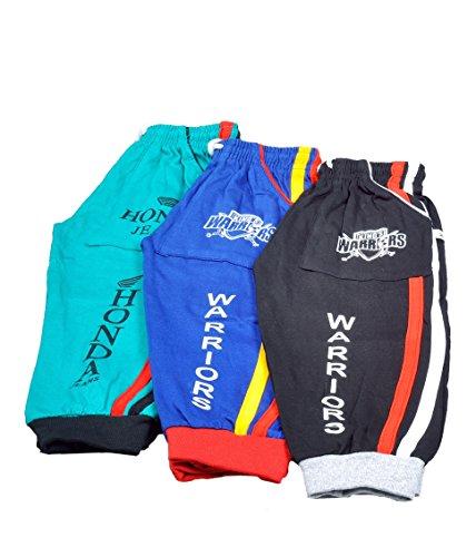 Ezee Sleeves Combo Kids 3/4th Capri Pant of 3(3-5 Years)